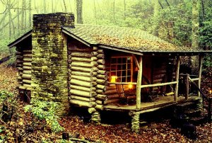 That dream cabin...